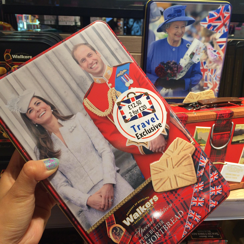 ロンドンシティ空港のお土産クッキー編